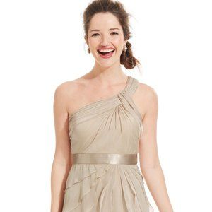 NWT Adrianna Papell dress one-shoulder